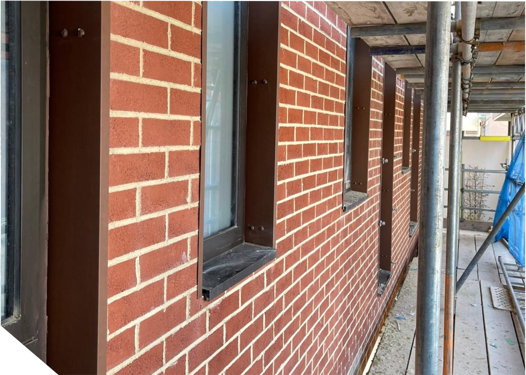 There are many uses for brick slip cladding.