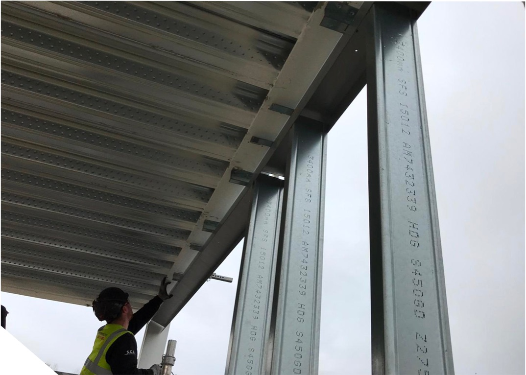 Regency Facades work with a range of steel framing systems suppliers.