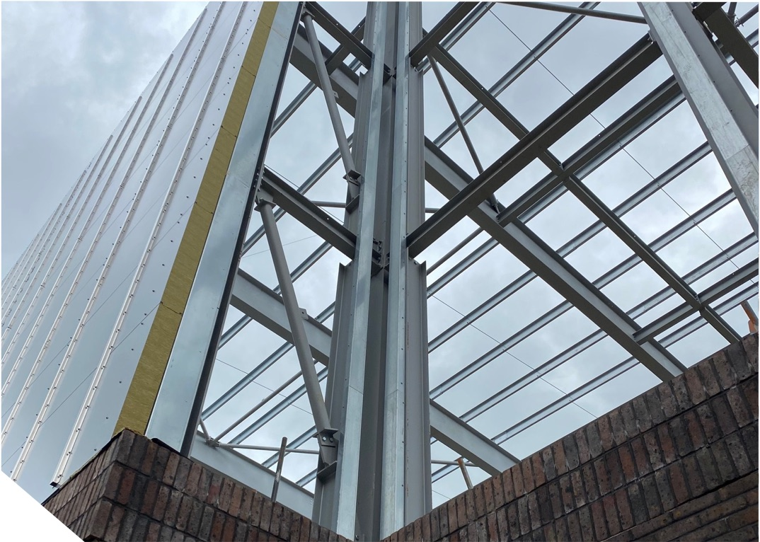 Regency Facades are experts in steel framing systems.